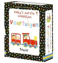Usborne  babyboek Baby eerste woordje voertuigen