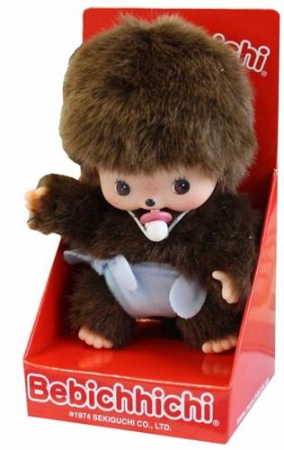 Monchhichi  knuffelpop Baby jongen - 16 cm-2