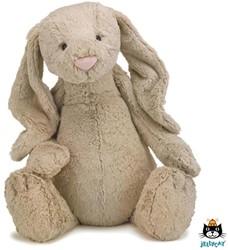 Jellycat knuffel Bashful Beige Bunny Huge 51cm