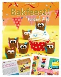 Kinderboeken  doeboek Bakfeest fondant en zo