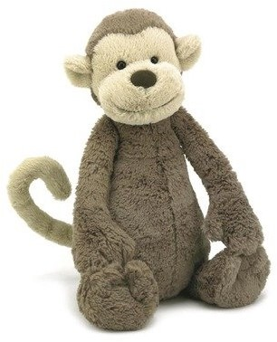 Jellycat knuffel Bashful Monkey Large 36cm