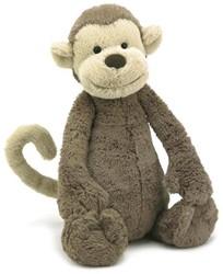 Jellycat  Bashful Monkey Medium - 31 cm