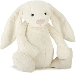 Jellycat knuffel Bashful Cream Bunny Really Big -67cm