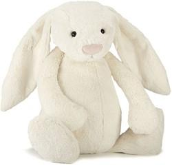 Jellycat knuffel Bashful Cream Bunny Really Big 67cm