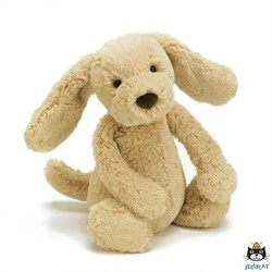 Jellycat knuffel Bashful Toffee Puppy Medium 31cm