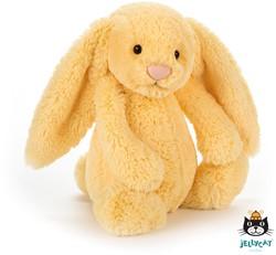 Jellycat Bashful Lemon Bunny Small - 19 CM
