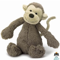 Jellycat Bashful Monkey Small - 18cm