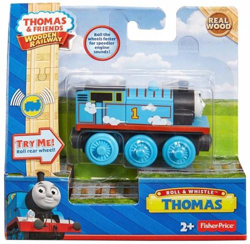 Thomas and Friends  houten trein Thomas licht en geluid-2