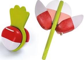 Plan Toys  houten muziekinstrument Beetroot Clapper