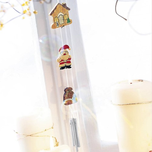 Beleduc  houten knutselspullen Windspel Kerst-3