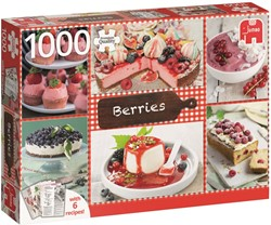 Jumbo Berries + 6 recipes - 1000 stukjes