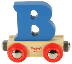 BigJigs Rail Name Letter B, BIGJIGS, LETTERTREIN B