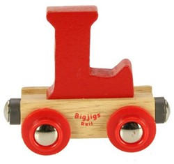 BigJigs Rail Name Letter L, BIGJIGS, LETTERTREIN L