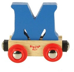 BigJigs Rail Name Letter M, BIGJIGS, LETTERTREIN M