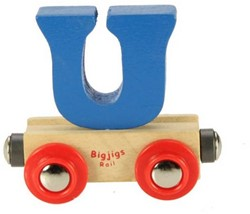 BigJigs Rail Name Letter U