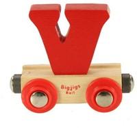 BigJigs Rail Name Letter V-3