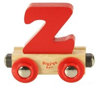 BigJigs Rail Name Letter Z, BIGJIGS, LETTERTREIN Z