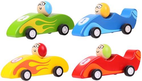 Bigjigs Pull Back Racewagen