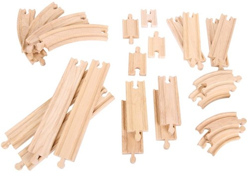 BigJigs Curves and Straights Expansion Pack-1