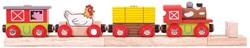 BigJigs Farmyard Train