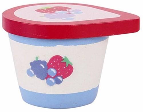 BigJigs houten keuken accessoire Yoghurt