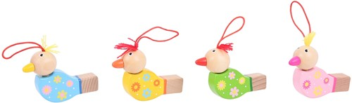 Bigjigs Wooden Bird Whistles (24)