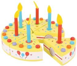 BigJigs  houten keuken accessoire Verjaardagstaart