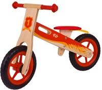 BigJigs houten loopfiets Rood-1