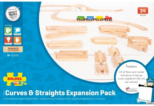 BigJigs Curves and Straights Expansion Pack-2
