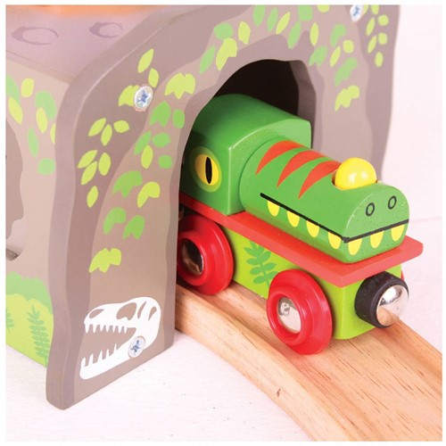 BigJigs T-Rex Tunnel-2