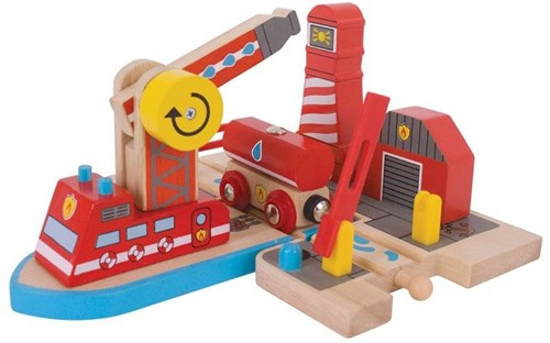 BigJigs Fire Sea Rescue