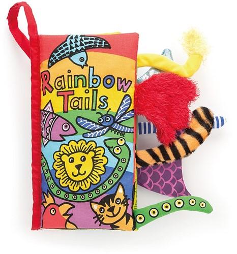 Jellycat staartenboek Regenboog