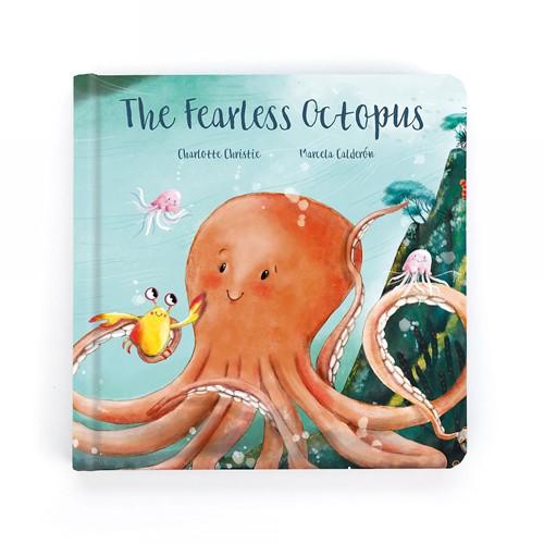 Jellycat Boek De Dappere Octopus