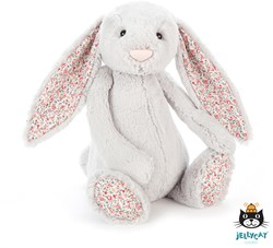 Jellycat Blossom Silver Bunny Large - 36 CM