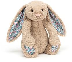 Jellycat konijn Beige met bloemetjes