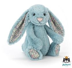 Jellycat Blossom Aqua Bunny Small - 18 CM