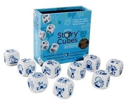 Rory's Story Cubes dobbelspel Actions