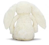 Jellycat knuffel Bloesem Bashful Crème Konijn Groot 36cm-3