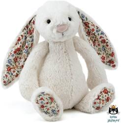 Jellycat  Blossom Bunny Cream Small - 18 cm