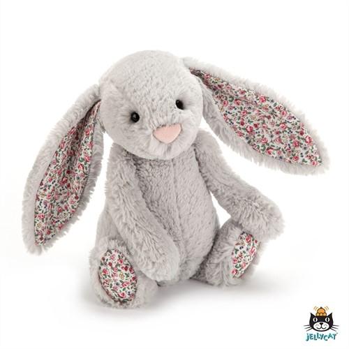 Jellycat Blossom Silver Bunny Small