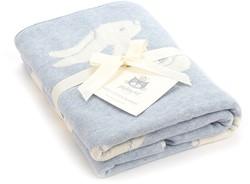 Jellycat Bashful Blue Bunny Blanket - 100cm