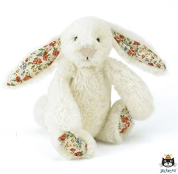 Jellycat  Bashful Blossom Bunny Cream Large - 36 cm