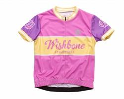 Wishbonebike  kinderkleding Wishbone Jersey Roze S