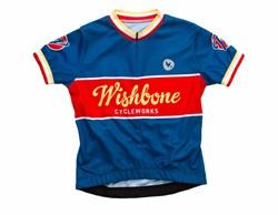Wishbonebike  kinderkleding Wishbone Jersey Blauw L