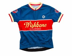 Wishbonebike  kinderkleding Wishbone Jersey Blauw M