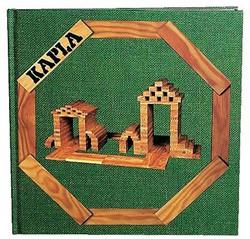 Kapla  houten bouwplankjes boek groen vol. 3