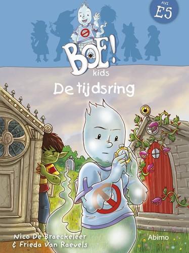 Kinderboeken  avi boek De tijdsring AVI E5