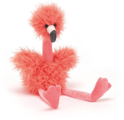 Jellycat knuffel Bonbon Flamingo 25cm