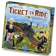 Days of Wonder bordspel Ticket to ride - Nederland