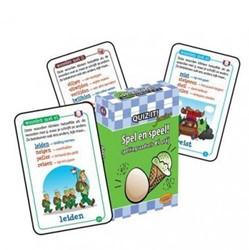 Planet Happy  leerkaarten Quiz it! Spel en speel ei/ij